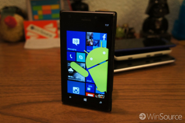 Logro de Windows: Windows 10 podría ejecutar Apk de Android