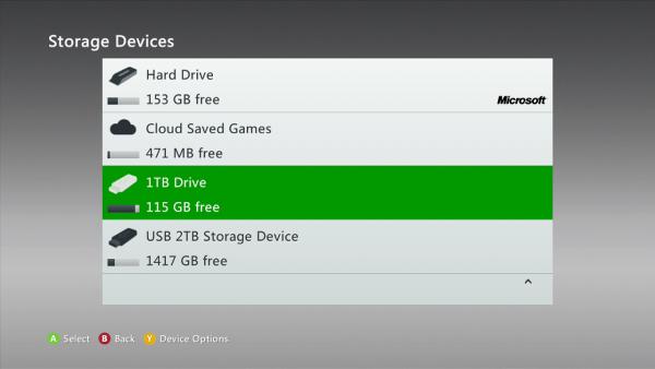 Xbox 360 disco duro 1TB