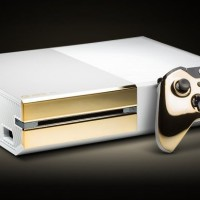 Xbox One Pearl color blanco y con oro