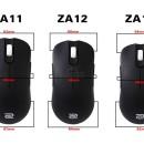 Zowie ZA11, ZA12 y ZA13: Ratón en 3 tamaños distintos