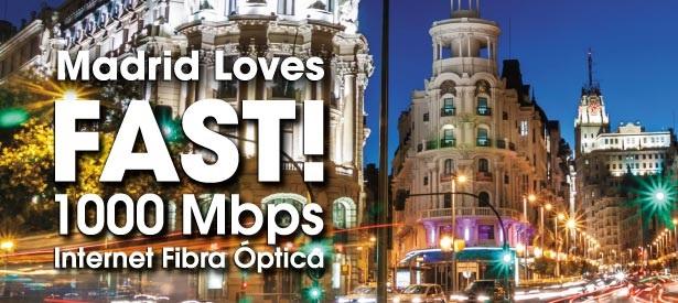 Adamo lleva los 1000 Mbps a Madrid por 35 euros