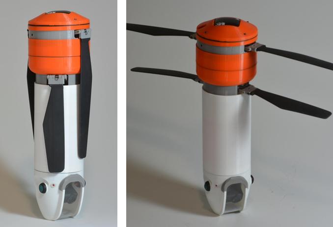 Sprite: Dron en forma de cilindro para los más aventureros