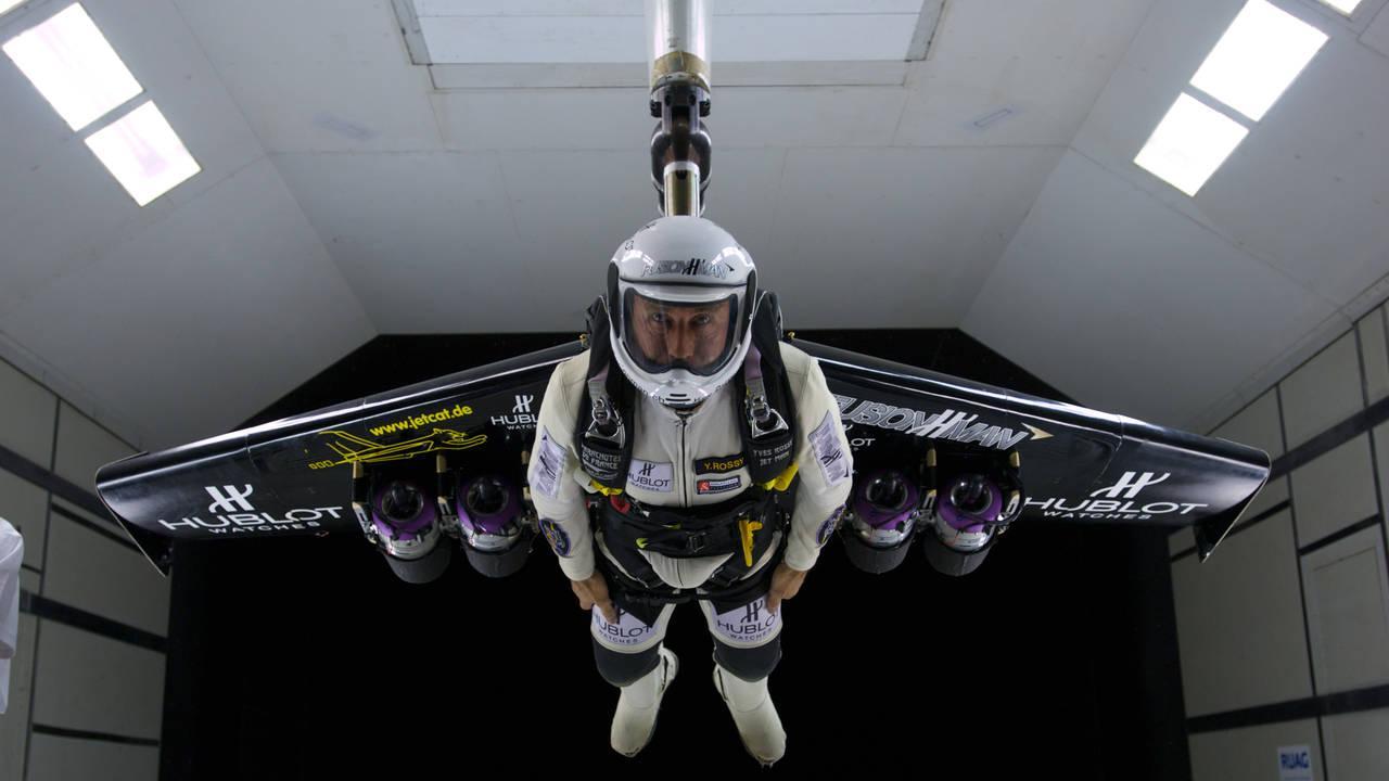 JetMan: El sueño del ser humano en vídeo, poder volar