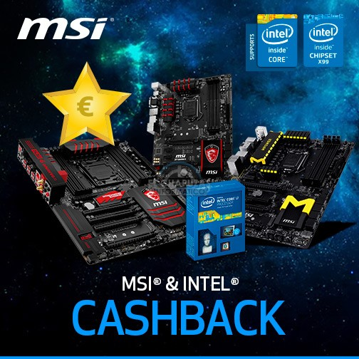 MSI Cashback 2015