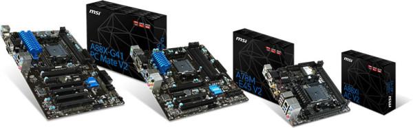 Nuevas placas base MSI FM2+