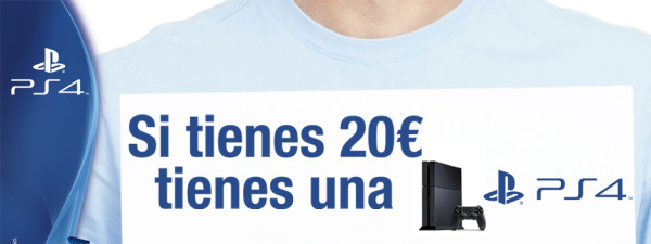 PlayStation 4 20 euros