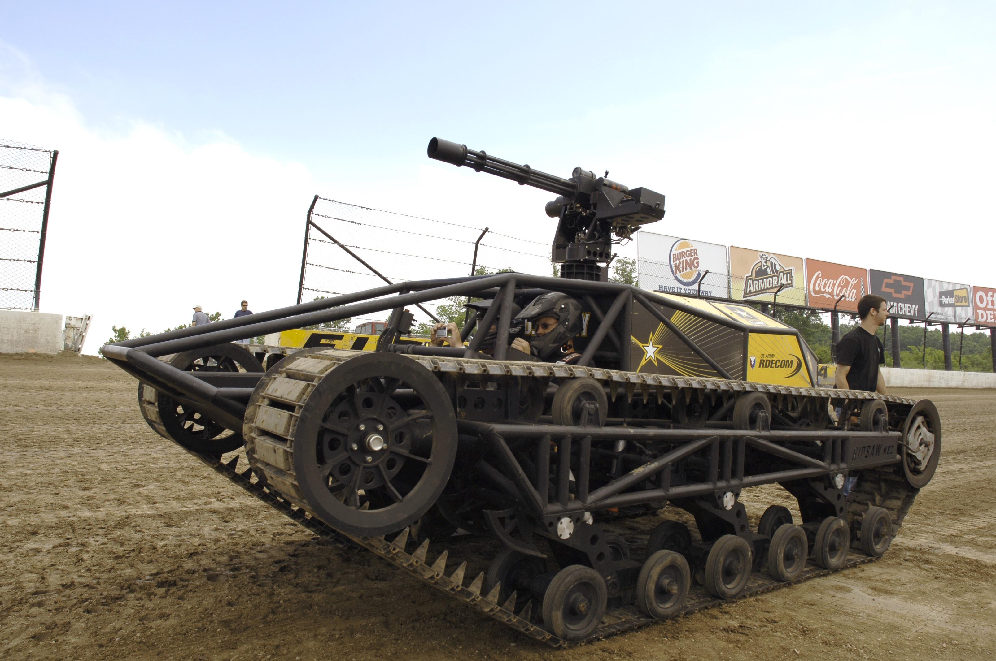 El ejército de EE.UU ya tiene un dron en forma de tanque