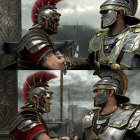 Ryse Son of Rome anunciado vs gameplay
