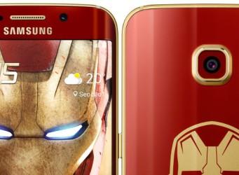 Samsung lanza su Galaxy S6 Edge Iron Man Limited Edition