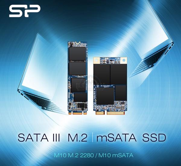 Silicon Power M10 M.2 2280 y M10 mSATA