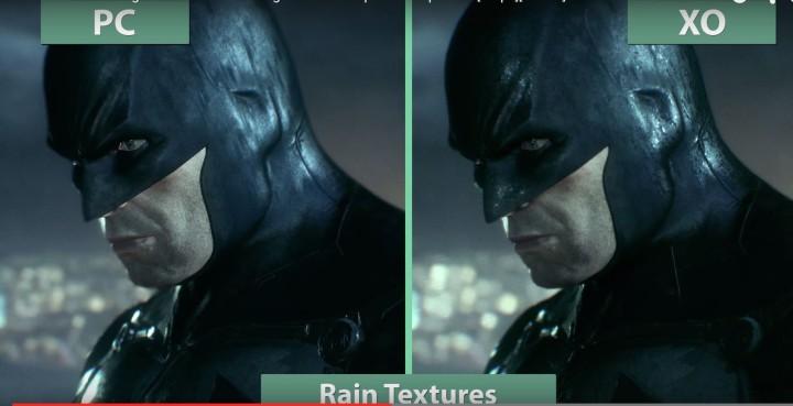 Batman Arkham Knight PC vs Xbox One