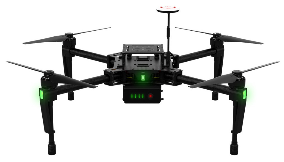 DJI Matrice 100: El primer dron comercial que detecta los obstaculos