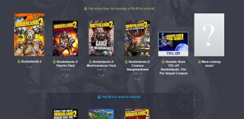 Humble Borderlands Bundle - Portada
