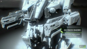 MECH Ti Nvidia Ray Traced Shadows