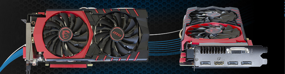 MSI GeForce GTX 980Ti Gaming 6G Slider