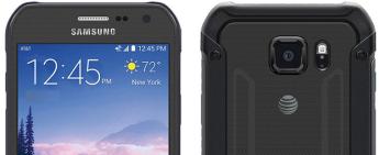 Samsung Galaxy S6 Active - Portada