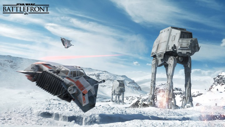 Star Wars Battlefront - Caminante
