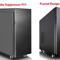 Thermaltake Suppressor F51 vs Fractal Design Define R5