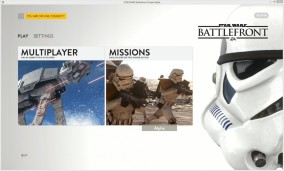 Alpha Star Wars Battlefront