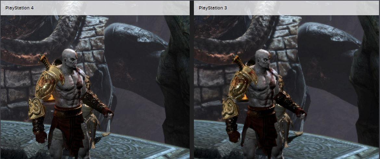 God of War 3 Remastered en PS4 vs PS3