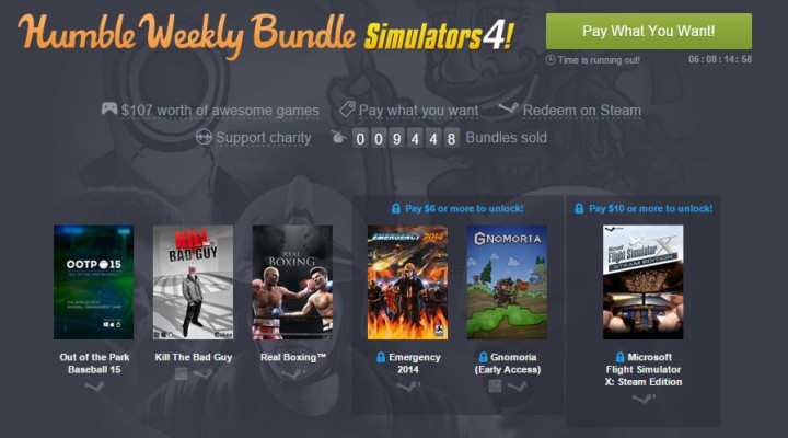Humble Weekly Bundle Simulators 4