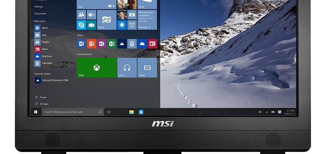 MSI Pro 24 2M: AIO de 23.6″ con Windows 10