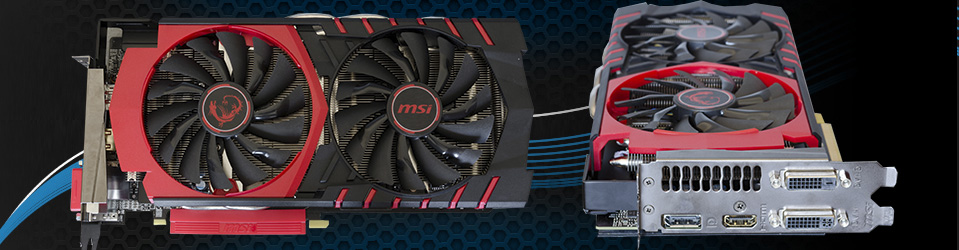 MSI Radeon R9 380 Gaming 2G Slider