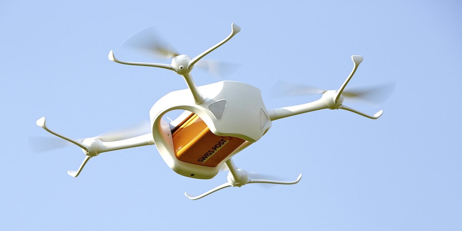 Suiza comenzará a usar drones para el envío de paquetes