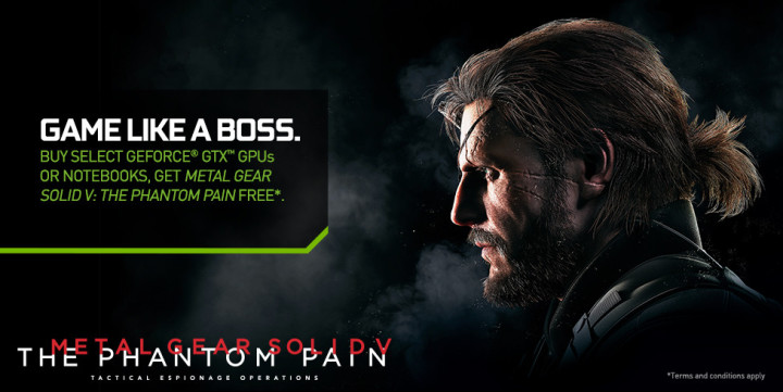Metal Gear Solid V Bundle Nvidia