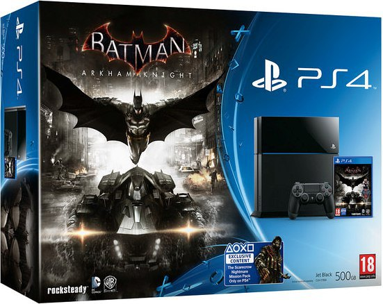 PlayStation 4 Batman Bundle