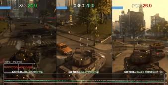 Prototype Xbox One vs Xbox 360 vs PlayStation 3