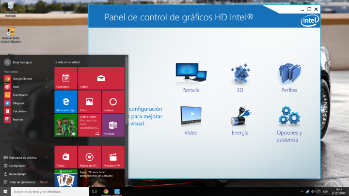 Windows 10 - Drivers Intel
