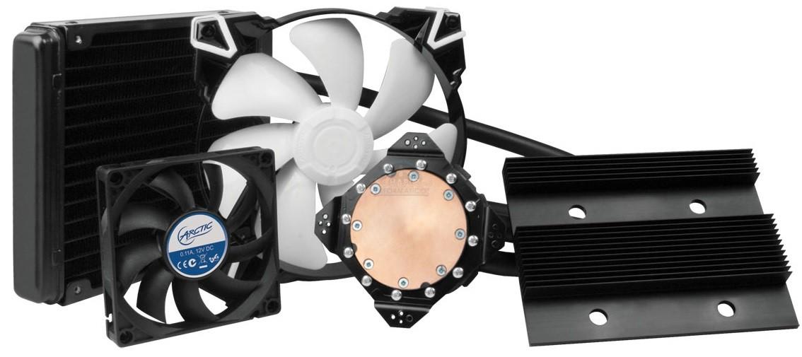 Arctic Accelero Hybrid III-140: Líquida para GPUs por 119.99€