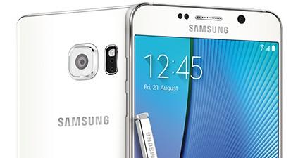 Galaxy Note5 HD - Portada