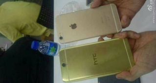 HTC Aero vs iPhone 6  - Portada