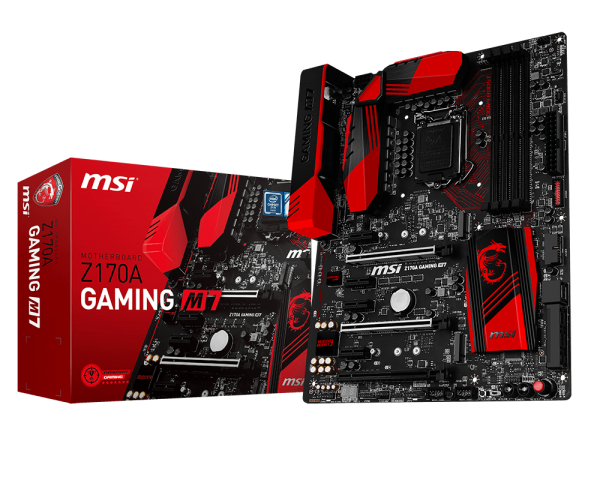 MSI Z170A Gaming M7 Oficial