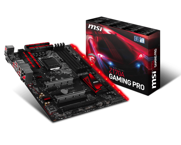MSI Z170A Gaming Pro Oficial