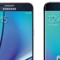 Samsung Galaxy Note 5 y Galaxy S6 edge+ - Portada