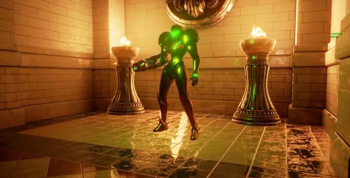 Así se ve a Samus Aran en el Unreal Engine 4 bajo DirectX 12