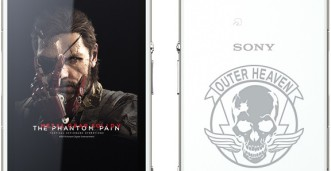 Xperia J1 Compact The Phantom Pain Edition - Portada