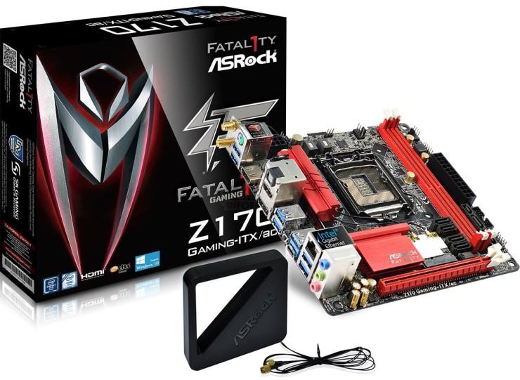Asrock Fatal1ty Z170 Gaming-ITX-ac (1)