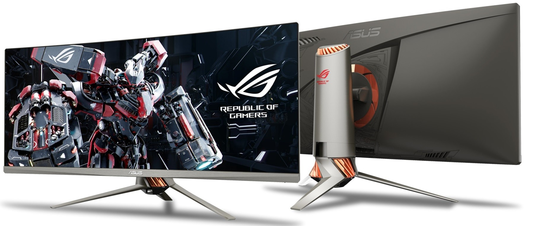 #CES2016: Monitores Asus Designo MX, ROG Swift PG348Q & MG28UQ