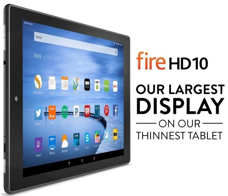 Amazon anuncia sus tablets Fire HD 10 y Fire HD 8
