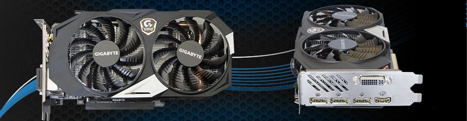 Gigabyte GeForce GTX 950 Xtreme Gaming Slider