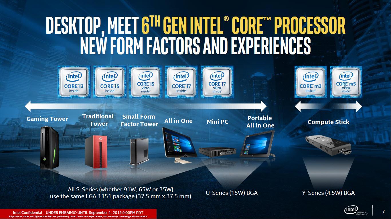 Intel hizo caer las ventas de pc para ayudar a skylake