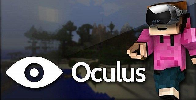 Minecraft Oculus Rift 0