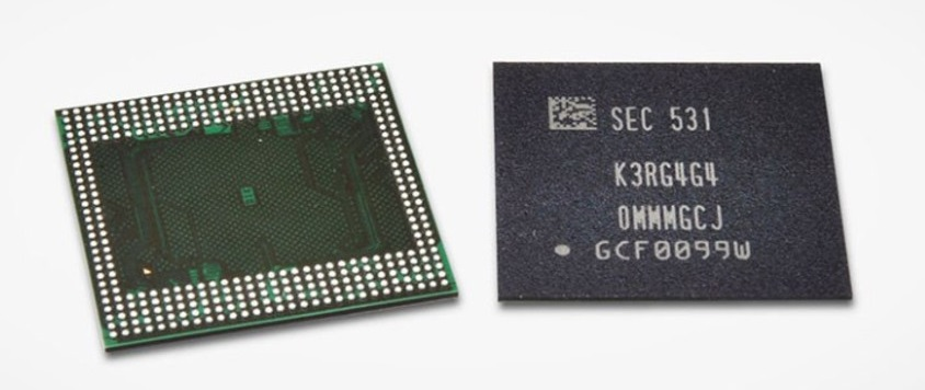 NAND Flash LPDDR4 3GB Samsung