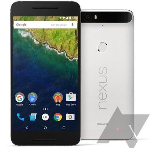 Nexus 6P Render filtrado