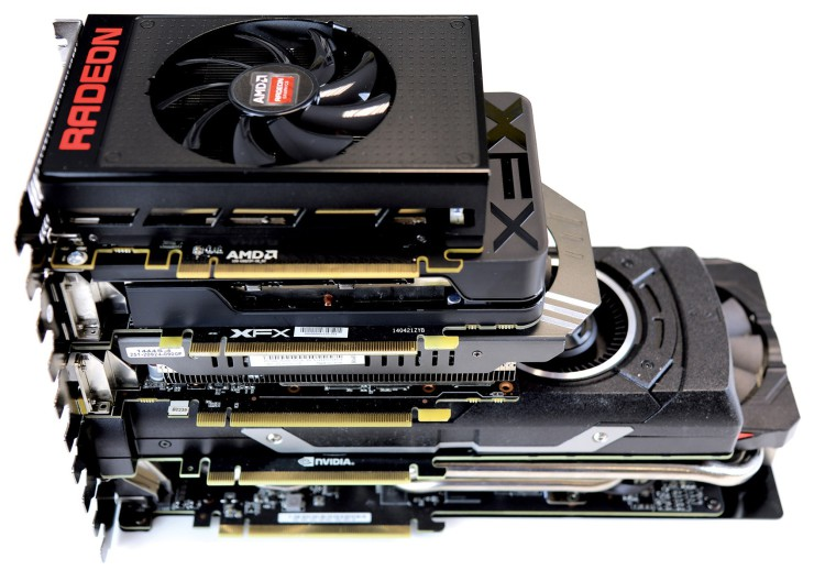 Radeon R9 Nano vs R7 360 vs GTX 970 vs GTX Titan X vs R9 390