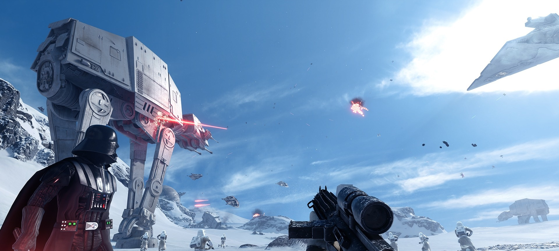 Probamos la Beta del Star Wars: Battlefront